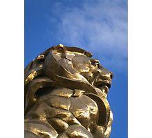 MGM Lion Las Vegas Photographic Print