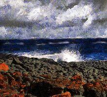 Stormy Sunrise by RC deWinter