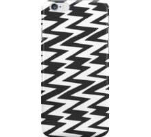 Black and White Funky Zigzag Chevron iPhone Case/Skin