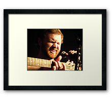 SING! Framed Print