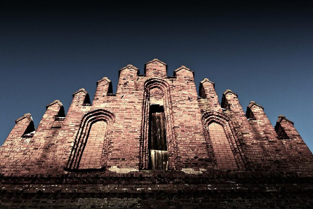 Gothic curch by Darius Narmontas