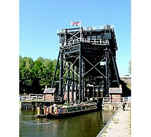 The Anderton Boat Lift. Photographic Print