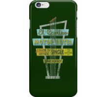 Vintage Motel Sign - El Camino iPhone Case/Skin