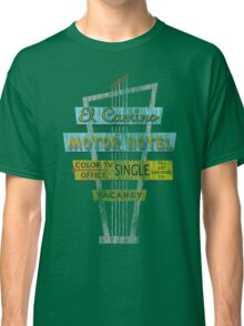 Vintage Motel Sign - El Camino Classic T-Shirt