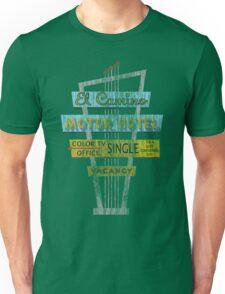 Vintage Motel Sign - El Camino Unisex T-Shirt