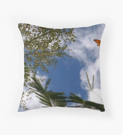 Freedom in Kauai Throw Pillow