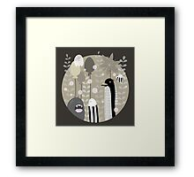 Japanese Fairy Tale / Piece 1 Framed Print