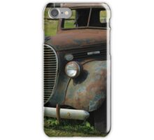 Front of a Vintage Truck iPhone Case/Skin