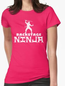 Backstage Ninja Womens T-Shirt