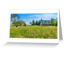 Abandoned House in Feltzen South Greeting Card