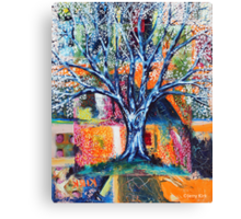 ‎''HERALD TO SPRING (BRADFORD PEAR TREE)'  Canvas Print