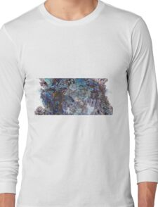 Panoracave - Abstract Fractal Long Sleeve T-Shirt