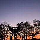 dancing statue by eddiebotha