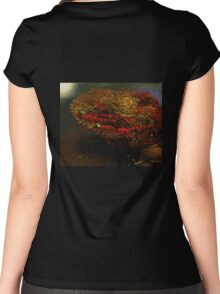 Autumn Approaches Women's Fitted Scoop T-Shirt
