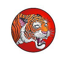 oriental tiger head Photographic Print