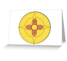 New Mexico Compass Greeting Card