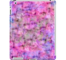 Colorful Pink Purple Mixed Watercolor Pattern iPad Case/Skin