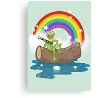 The Rainbow Connection Canvas Print