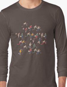 hurry up! Long Sleeve T-Shirt