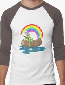 The Rainbow Connection Men's Baseball ¾ T-Shirt