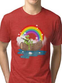 The Rainbow Connection Tri-blend T-Shirt