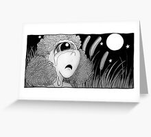 """Celeste the Cyclops from """"The Horribles"""" Greeting Card"""