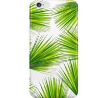 Tropical Exotic Hawaiian Palm Fronds iPhone Case/Skin