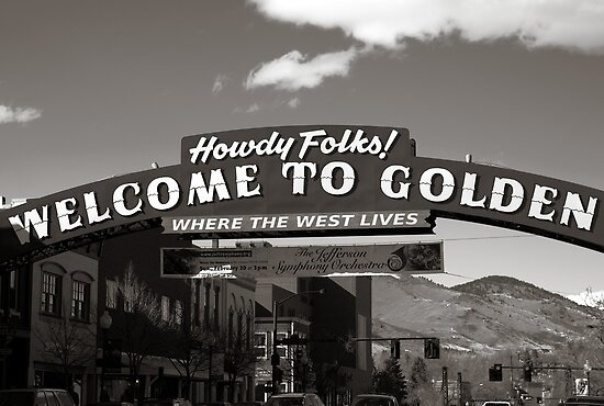 Welcome to Golden by Gary Taylor