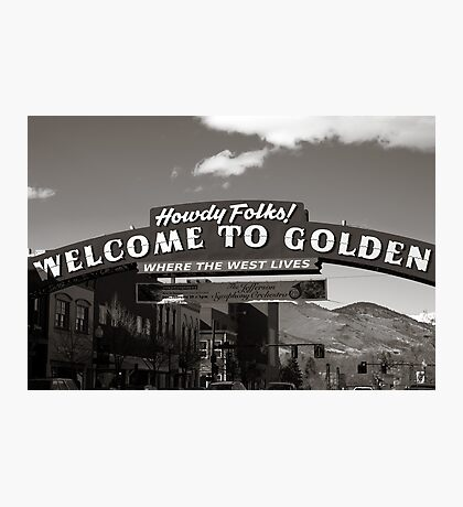 Welcome to Golden Photographic Print