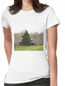 Beautiful Old House Womens Fitted T-Shirt