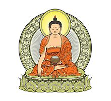 buddha color Photographic Print