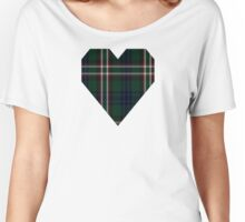 00545 Blackrock (Symmetrical) Tartan  Women's Relaxed Fit T-Shirt