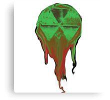 Radioactive snow cone Canvas Print