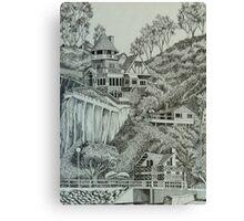 Holly Hill House in Avalon Canvas Print