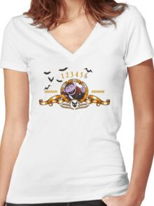 Counts Gratia Countis Women's Fitted V-Neck T-Shirt
