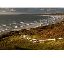 Rhossili bay south Wales Photographic Print