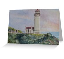North Head Lighthouse Greeting Card