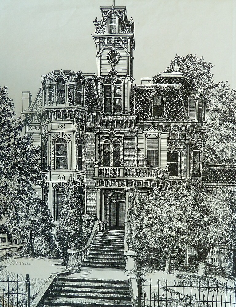 The Old Governor's Mansion by Sally Sargent