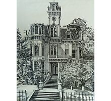 The Old Governor's Mansion Photographic Print
