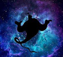 Aladdin Genie Galaxy by SaniaRiaz