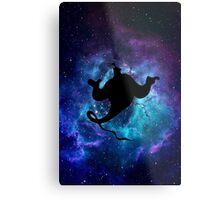 Aladdin Genie Galaxy Metal Print