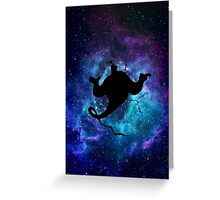 Aladdin Genie Galaxy Greeting Card