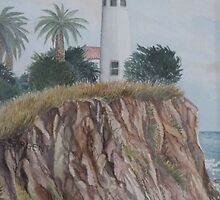 Pt Vicente Lighthouse by Sally Sargent