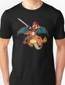 Mario and Pokemon Mashup  T-Shirt