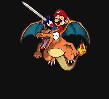 Mario and Pokemon Mashup  T-Shirt