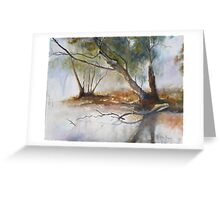 TRANQUIL MIST Greeting Card