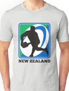 New zealand rugby player passing ball Unisex T-Shirt