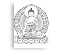 buddha outline Canvas Print