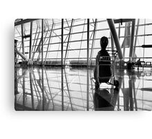 Airport music Canvas Print