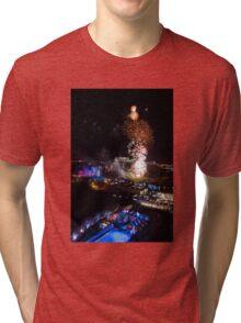 Hogmanay Edinburgh Scotland UK Tri-blend T-Shirt